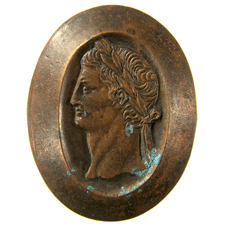Cameo. Youth's head
