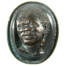 Cameo. African head