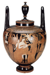Marsyas Painter's wedding vase