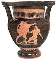 Athenian red-figure column-krater
